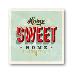 PLACA HOME SWEET HOME 30x30 cm