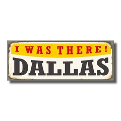 PLACA DALLAS 40x15 cm - comprar online