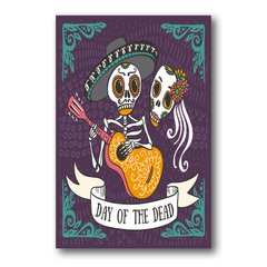 PLACA DAY OF THE DEAD