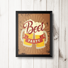PLACA BEER PARTY na internet