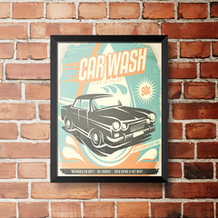 PLACA CAR WASH na internet