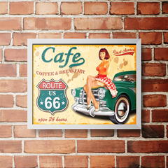 PLACA COFFEE BREAKFAST - comprar online