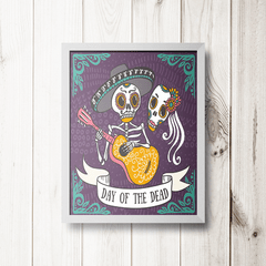PLACA DAY OF THE DEAD - comprar online