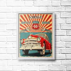 PLACA REPAIR ROUTE 66 - comprar online