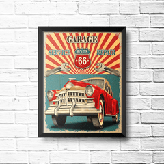 PLACA REPAIR ROUTE 66 na internet