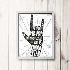 PLACA ITS NEVER - comprar online