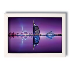 QUADRO DUBAI PURPLE na internet