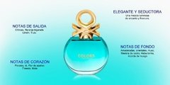 Colors Blue De Benetton Edt 50ml Para Mujer en internet