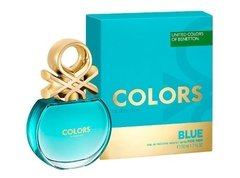 Colors Blue De Benetton Edt 50ml Para Mujer
