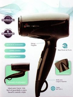Secador De Pelo Plegable Gama New Eolic Travel 1600 W en internet