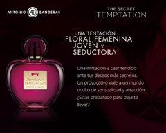 Her Secret Temptation Antonio Banderas Edt 50ml Para Mujer en internet