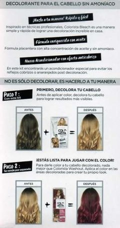 Decolorante Permanente Loréal Colorista Effects Bleach en internet