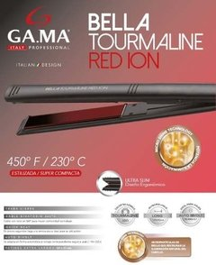 Planchita De Pelo Gama Bella Tourmaline Red Ion Ultra Slim en internet