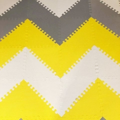 PISO DE GOMA ENCASTRABLES PLAYMAT YELLOW (Amarillo) - Baby Shop Argentina