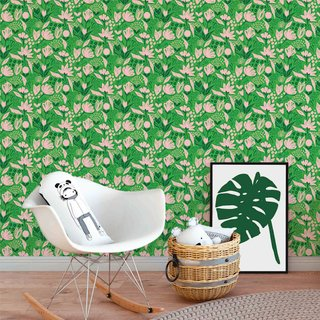 papel-de-parede-botanic-verde-mama-loves-you