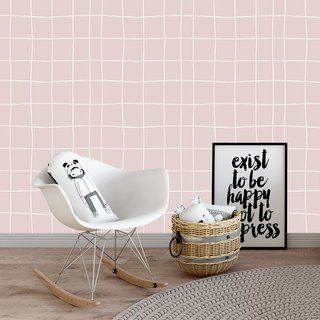 papel-de-parede-quadriculado-rosa-mama-loves-you