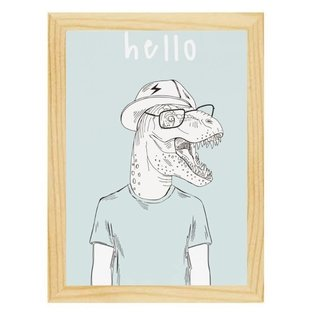 quadro-hello-dino-mama-loves-you