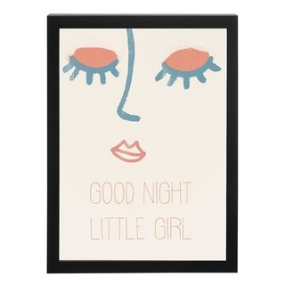 quadro-little-night-girl-mama-loves-you