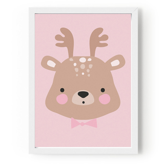 Quadro Cards Forrest Animals – Ms. Deer Eef. Lillemor