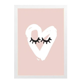 quadro-coracao-rosa-mama-loves-you