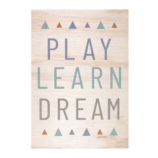 quadro-a4-madeira-play-learn-dream-azul-mimoo-toys
