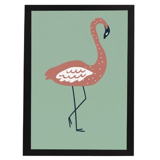 quadro-selva-flamingo-mama-loves-you