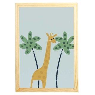 quadro-selva-girafa-mama-loves-you