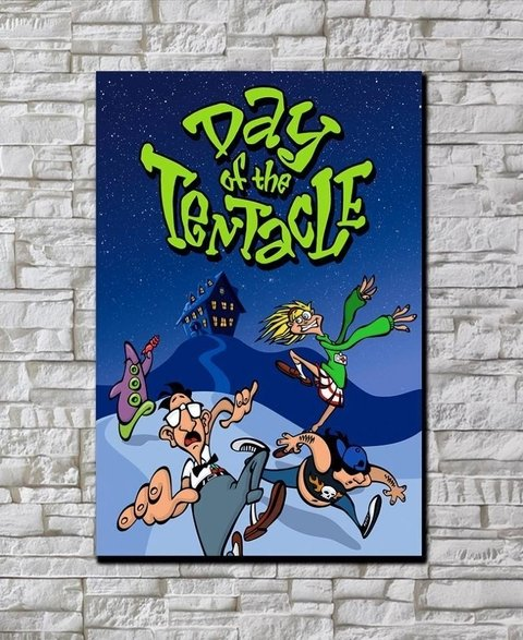 Cuadro Day of the Tentacle