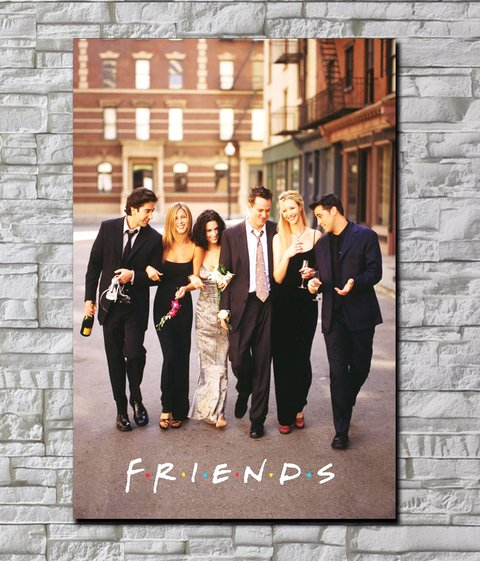 Cuadro Friends Poster 1 - comprar online