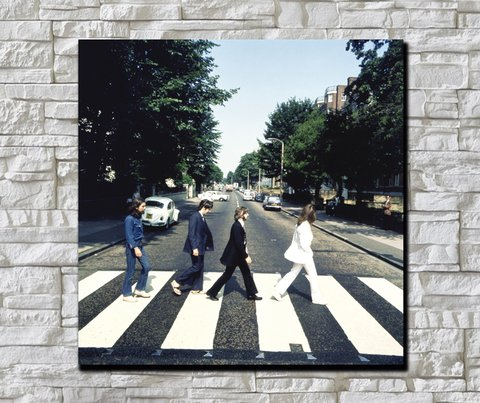 Cuadro The Beatles Abbey Road - comprar online