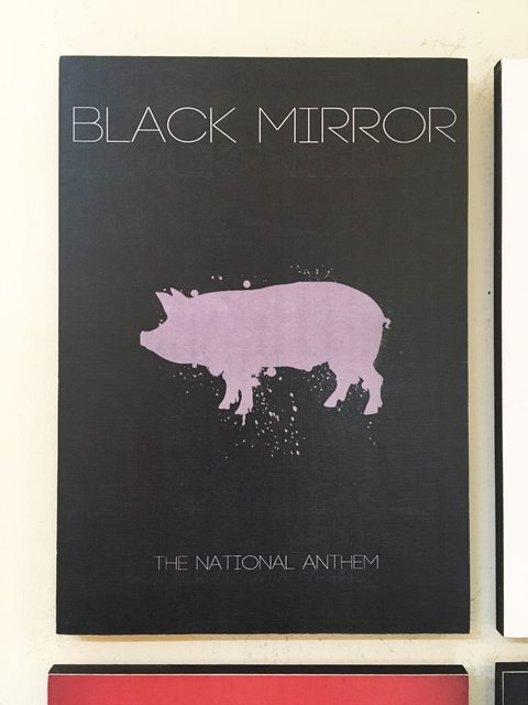 Cuadro Black Mirror The National Anthem - comprar online