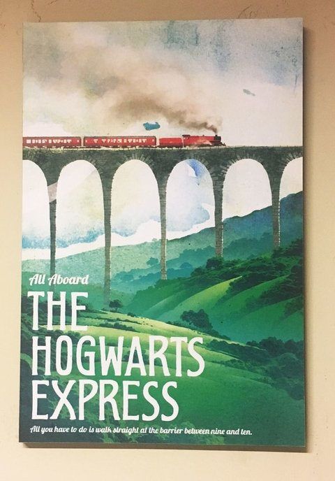 Cuadro Harry Potter The Hogwarts Express