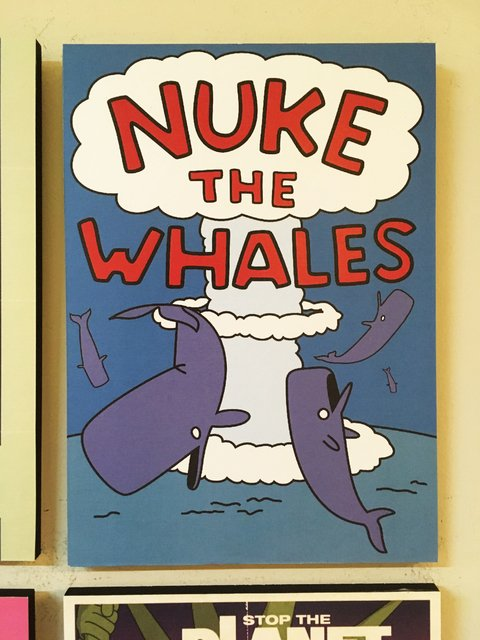 Cuadro Los Simpsons Nuke The Whales - comprar online