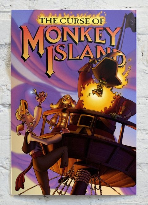 Cuadro The Curse of Monkey Island