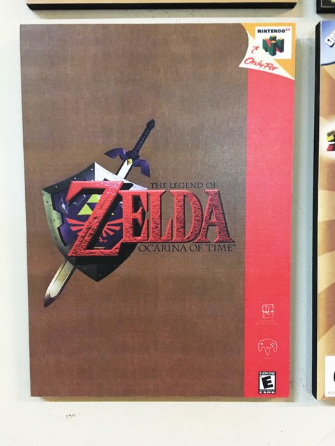 Cuadro The Legend of Zelda: Ocarina of Time - comprar online