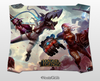 Mouse pad gamer, Jinx VS Vi