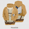 Moletom Uniforme Attack On Titan - comprar online