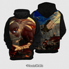 Moletom Titan vs Mikasa Attack On Titan Estampa Total Frente e Costas - comprar online