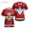 Camisa Uniforme Power Ranger Red