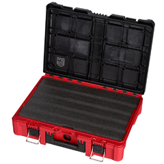 Caja Packout Milwaukee 4822-8450 C/placa Espuma Negra Custom