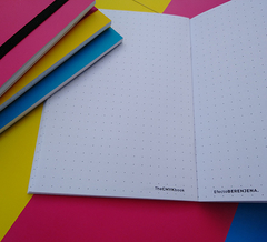 CMYK BOOK - LIBRETA A6 - YELOW