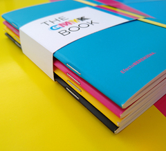 CMYK BOOK - LIBRETA A6 - YELOW en internet