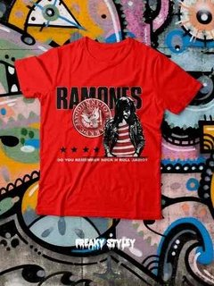 Remera Ramones Joey Ramone, Do U Remember Rock N Roll Radio?
