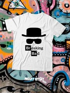 Remera Breaking Bad Logo en internet