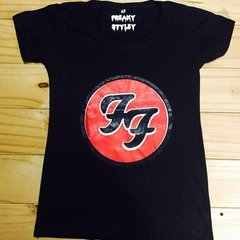 Remera Foo Fighters Logo