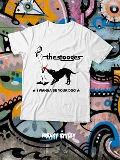 Remera The Stooges I Wanna Be Your Dog, Iggy Pop - comprar online