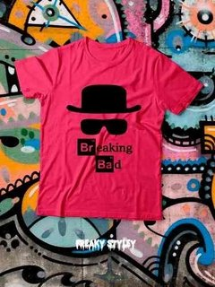 Remera Breaking Bad Logo