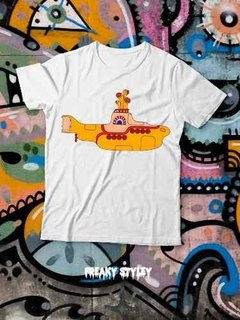 Remera The Beatles Yellow Submarine - tienda online