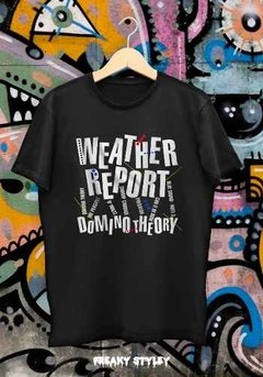 Remera Weather Report Domino Theory