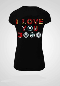 REMERA AVENGERS I LOVE YOU 3000 - comprar online